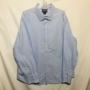 Claiborne Mens Shirt Size XXLCasual Button Down